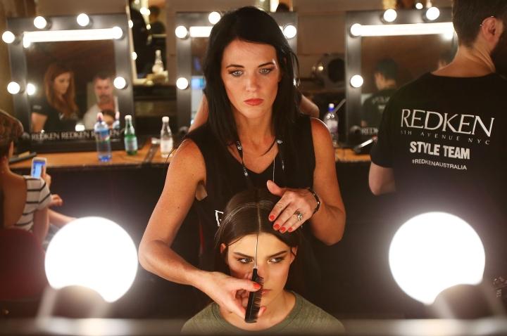 Australian Fashion Labels - Backstage - MBFFS 2014