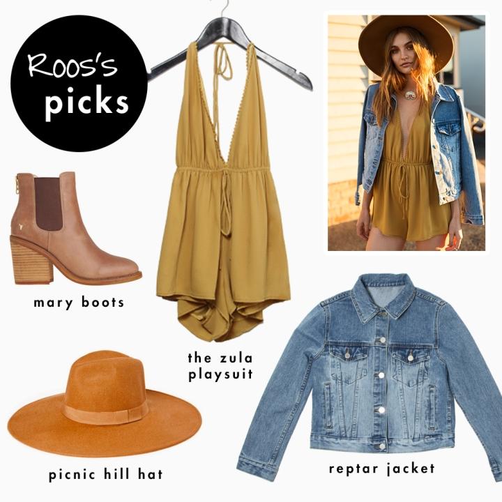 roos's picks